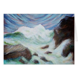 Seascape by Laurie Mitchell Card