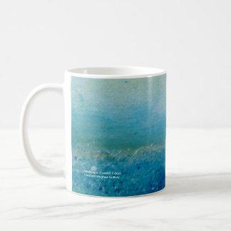 Seascape, Cornish Coast Basic White Mug