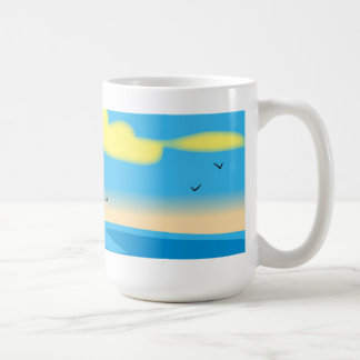 Seascape Cup Basic White Mug
