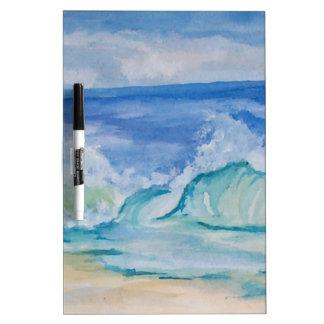 Seascape Dry-Erase Board