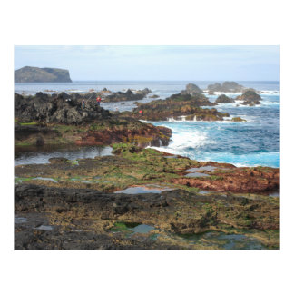 Seascape from Azores islands 21.5 Cm X 28 Cm Flyer