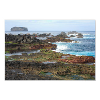 Seascape from Azores islands Art Photo