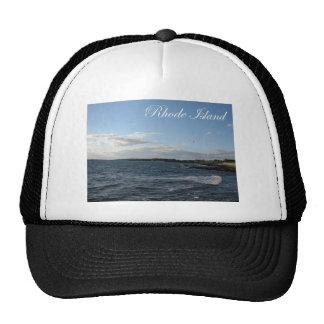 Seascape in Rhode Island Hat