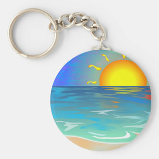 Seascape Key Ring