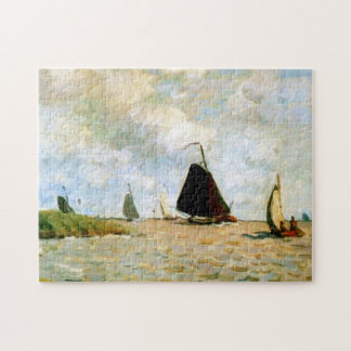Seascape Monet Fine Art Jigsaw Puzzle