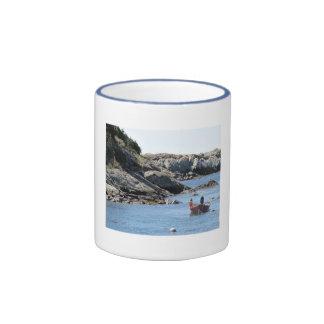 Seascape Ringer Mug