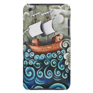 Seascape Mural Painting iPod Touch Case-Mate Case