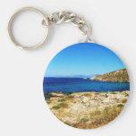 Seascape - Mykonos, Greece Key Chains