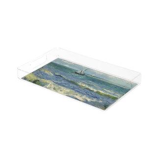 Seascape near Les Saintes-Maries-de-la-Mer Acrylic Tray