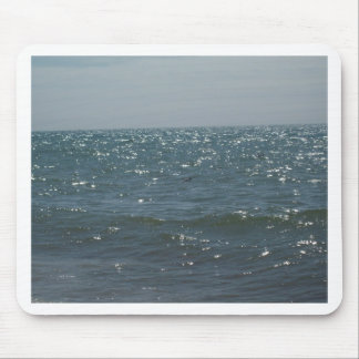 Seascape on the Waves Mousepads