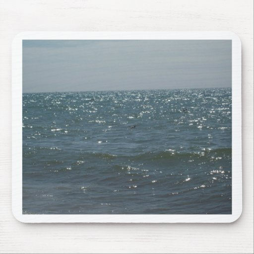 Seascape, on the Waves Mousepads
