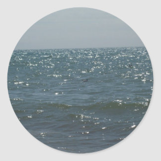 Seascape, on the Waves Stickers