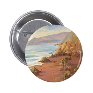 Seascape Pinback Buttons
