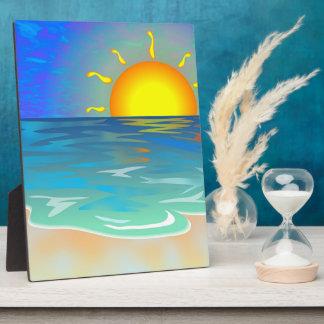 Seascape Plaque