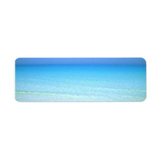 Seascape Return Address Label