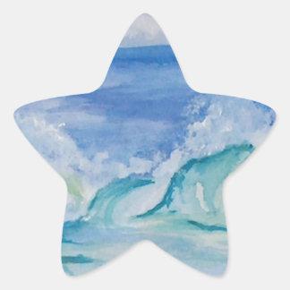 Seascape Star Stickers