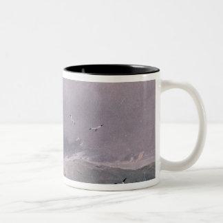 Seascape Two-Tone Coffee Mug