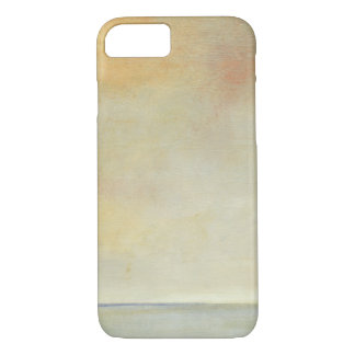 Seascape with Tranquil Orange Sunset iPhone 7 Case