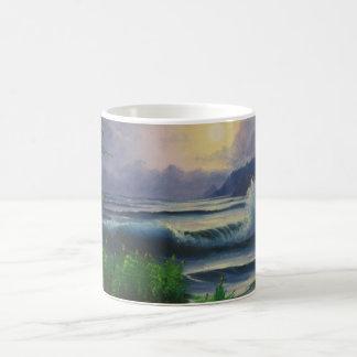 SeaScape Wonderland Basic White Mug
