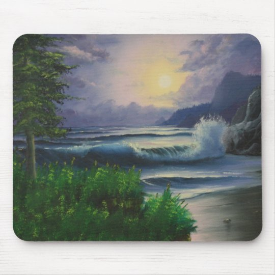 Seascapes Wonderland Notebooks Mouse Pad