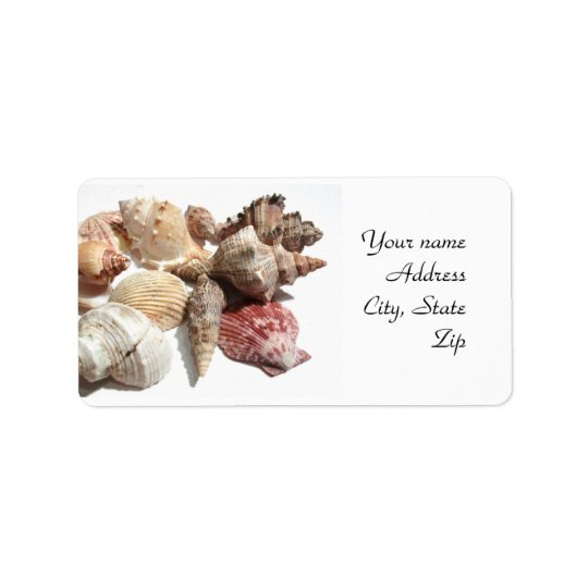 Seashell Address Labels