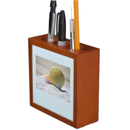 Seashell and Sunset Desk Organiser
