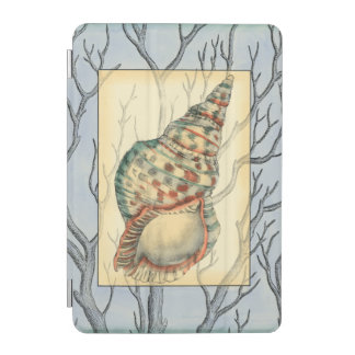 Seashell and Tree Branches iPad Mini Cover