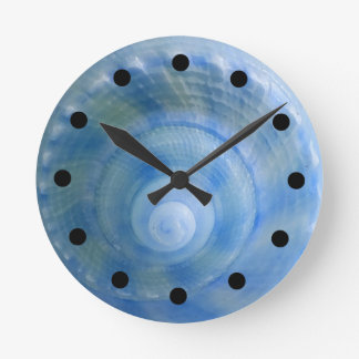 Seashell Bath Set Wall Clock