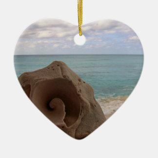 Seashell | Beach Paradise Christmas Ornament