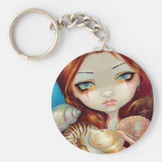 """Seashell Beauty"" Keychain"