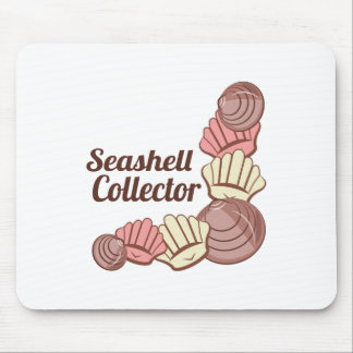 Seashell Collector Mousepads