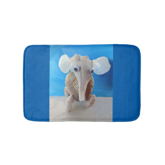 Seashell Elephant Craft Animal Sanibel Island FL Bath Mats