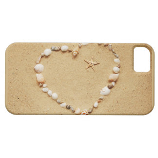Seashell Heart with Starfish Case For The iPhone 5
