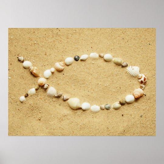Seashell Ichthys Poster