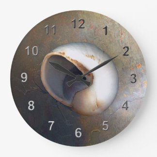 Seashell Large Clock