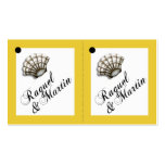 Seashell Luxe 2-Up Favour Gift Tags