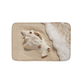 Seashell On Beach | Grand Turk Caribbean Island Bath Mat