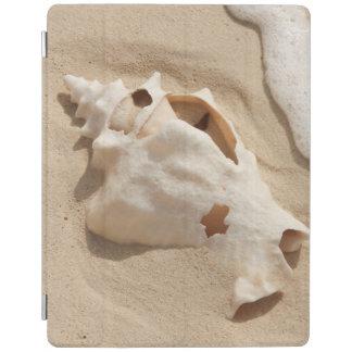 Seashell On Beach   Grand Turk Caribbean Island iPad Cover