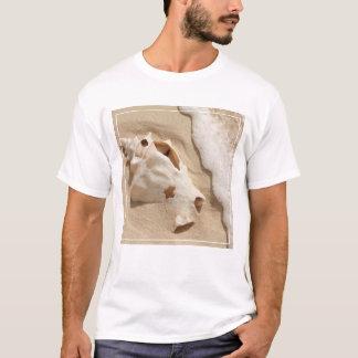 Seashell On Beach | Grand Turk Caribbean Island T-Shirt