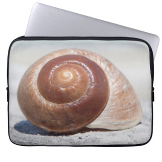 Seashell On Beach | St. Petersburg, Fl Laptop Sleeve