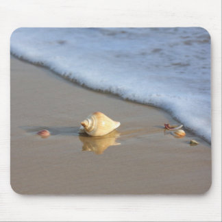 Seashell on the Beach Mouse Mat