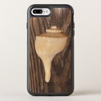 Seashell on wood iPhone 7 Plus Otterbox