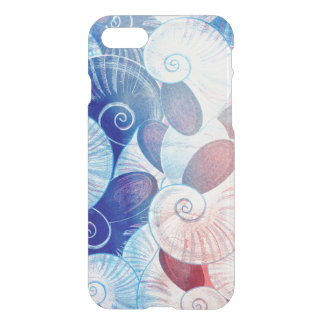 Seashell Scene Pattern iPhone 8/7 Case