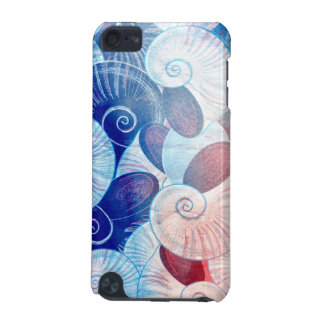 Seashell Scene Pattern iPod Touch (5th Generation) Case