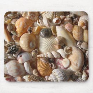 Seashell Variety Tropical Mouse Mat