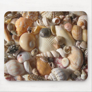 Seashell Variety Tropical Mouse Mat Mouse Pads