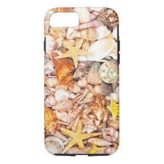 Seashells Background iPhone 7 Case