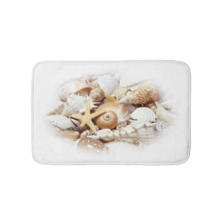 Seashells Bath Mat Bath Mats