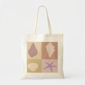 Seashells Beach Budget Tote