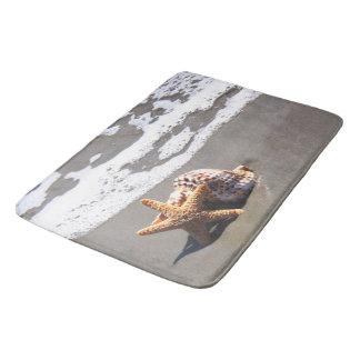 Seashells, Beach, Ocean, Bath, Home Rug or Mat